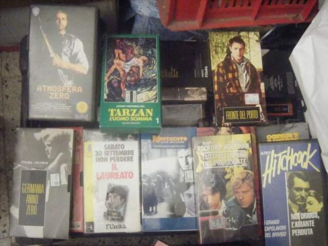 Lotto 100 VHS FILM