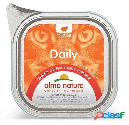 Almo nature daily menu' pfc gatto gr 100 mousse con manzo