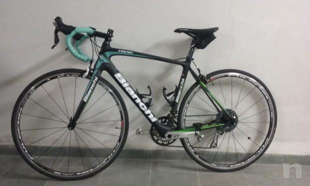 Bici da corsa BIANCHI INTENSO come nuova FULL CARBON