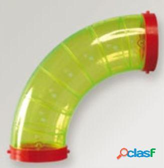 Domus tubo giocattolo per criceti e anello