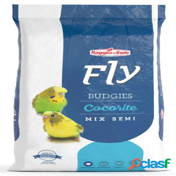 Fly hobby budgies cocorite mix di semi kg 1 - alimento