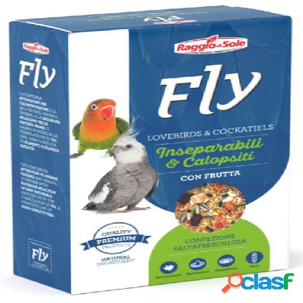 Fly hooby lovebrids & cockatiels inseparabili calopsiti con