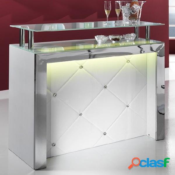 Mobile Tavolo Bar Reception Bancone con Luce Led