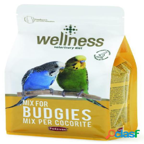 Padovan wellness budgies kg 1 (alimento per cocorite)