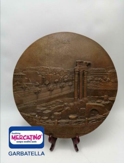 Placca bronzo foro romano