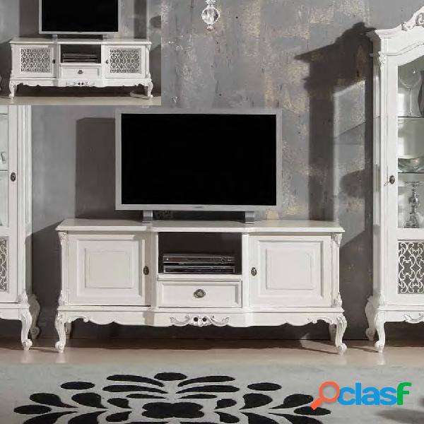 Porta TV Domus White