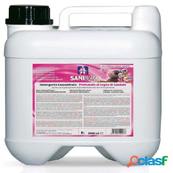 Sanibox igienizzante profumato ml 5000 al legno di sandalo