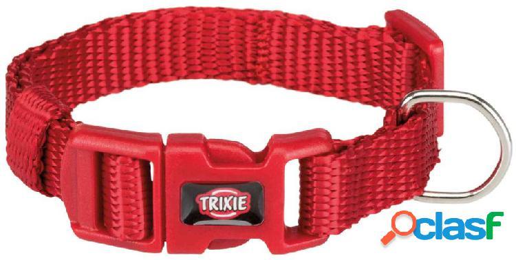 Trixie premium collare s - m 30-45 cm / 15 mm rosso