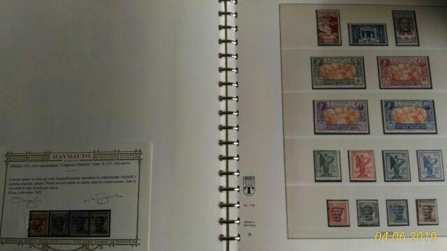 Collezione francobolli regno d'italia