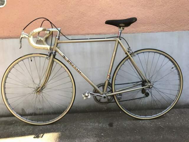 Bici da corsa vintage Poretti 3t epoca revisionata