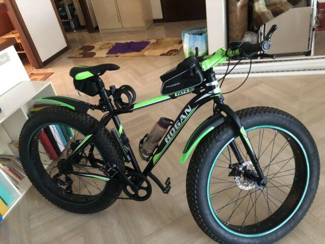 Fat bike Nicoletta come nuova accessoriata
