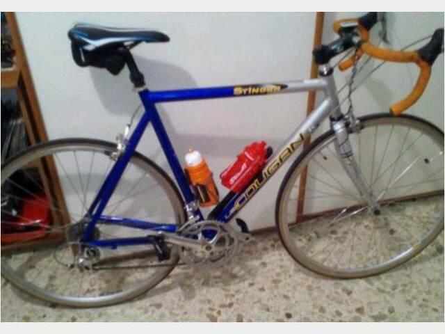 Usato bici da corsa Lee cougan stinger alluminio e carbo