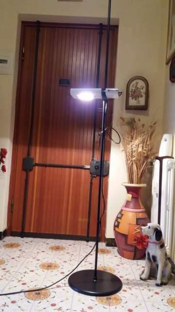 Artemide mod. arton anni '60 lampada a piantana