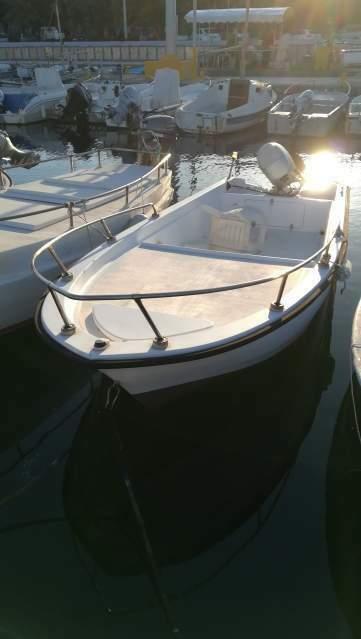 Barca mod. Porto Azzurro 5 mt guida senza patente