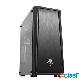Cougar MX340 Middle Tower No Power minITX/mATX/ATX Nero