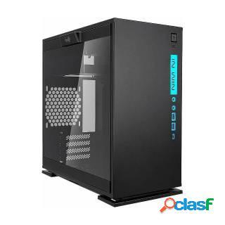 In Win 301C Black RGB Mini Tower Vetro Temperato No Power