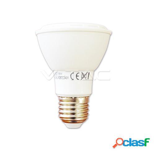 LED Bulb - 8W PAR20 E27 6000K