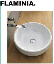 Lavabo da appoggio ceramica FLAMINIA