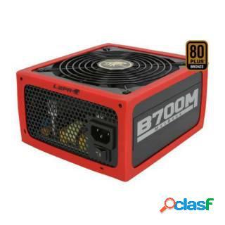 Lepa MaxBron 700W Modulare 80+ Bronze PFC Attivo ATX Rosso