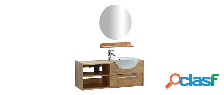 Mobile da bagno: vasca mobile sotto-vasca mensola e specchio
