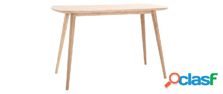 Scrivania design legno L120 cm SWIFT