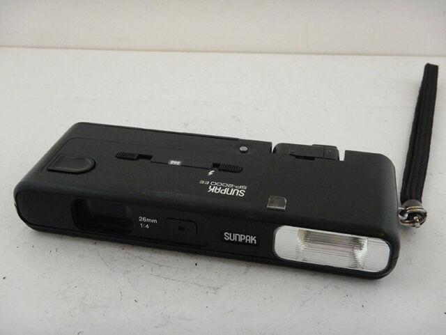 Sunpak SP- EE 26mm f4 Film Camera in Ottime Condizioni