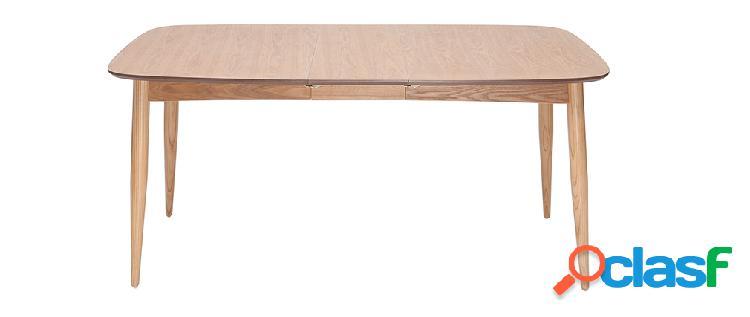 Tavolo da pranzo allungabile in frassino L130-190 cm NORDECO