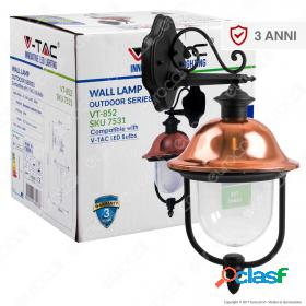 Wall Lamp E27 With Clear PC Cover Down