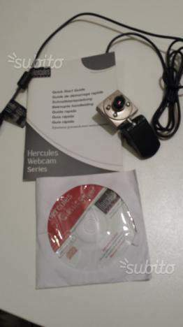 Telecamera x PC HerculesWebcam Series