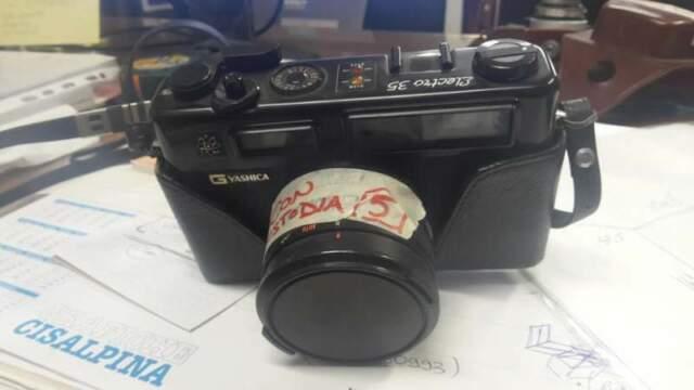 Yashica electro 35 macchina fotografica