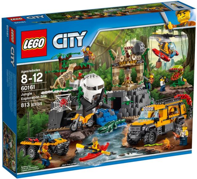 Lego city sito di esplorazione nella giungla sped gratis