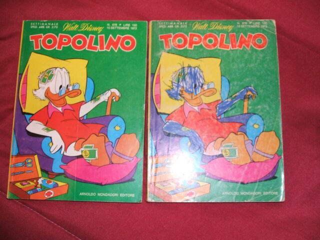 TOPOLINO N. 876 DEL 10 SETTEMBRE  con inserti