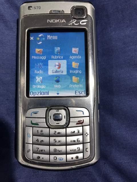 Cellulare Nokia N70 perfettamente funzionante con