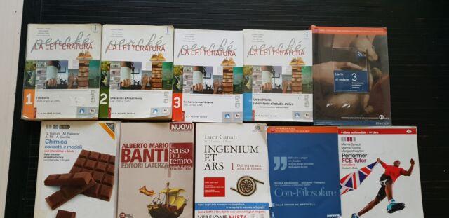 Libri scolastici per liceo scientifico 3^