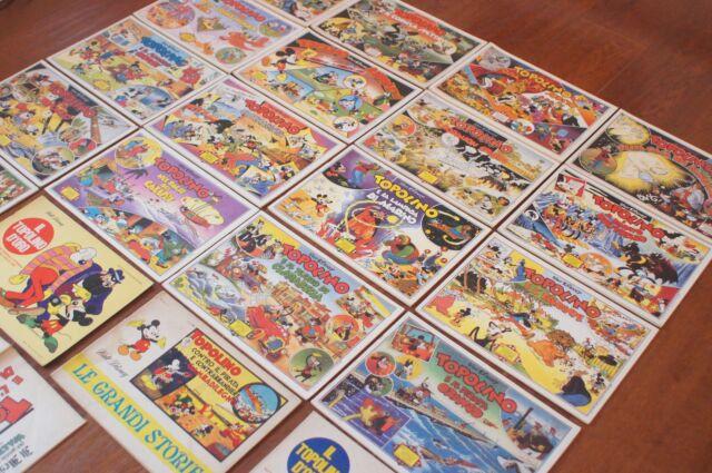 Lotto Collezione Le Grandi Storie di Walt Disney Topolino