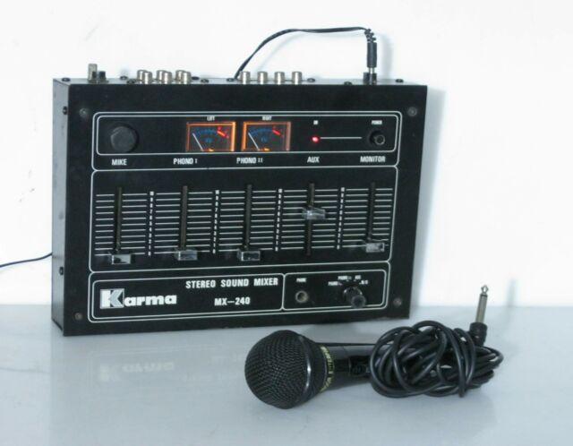 Mixer + microfono,per karaoke e piccoli eventi Karma MX-240