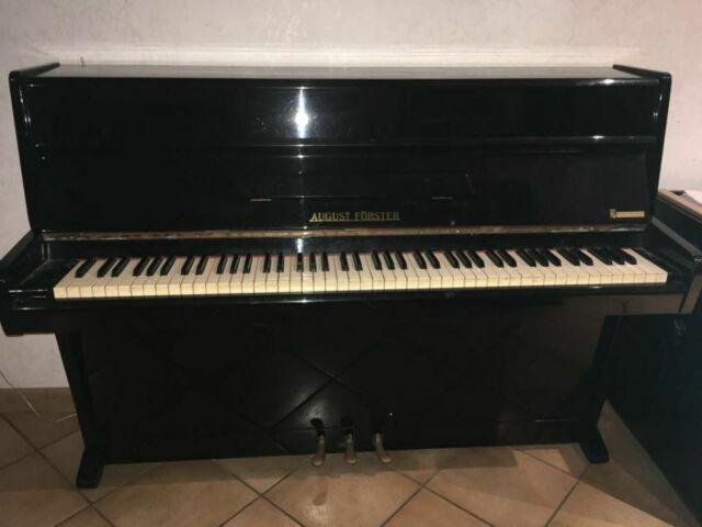 Pianoforte august forster mezza coda   Posot Class