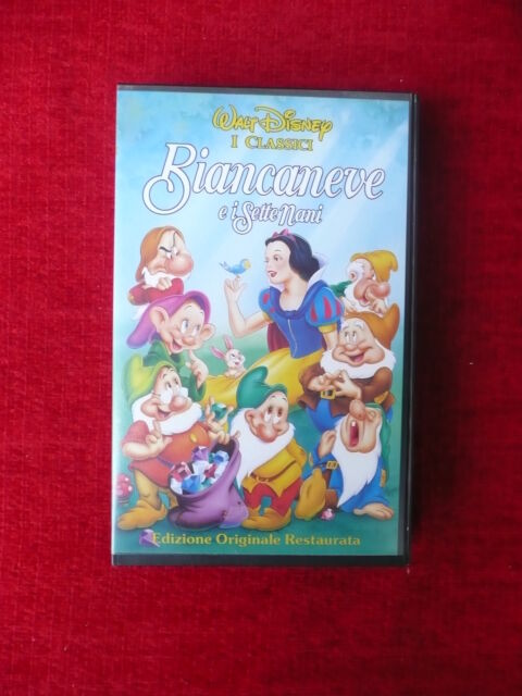 Video Cassette Walt Disney (6)