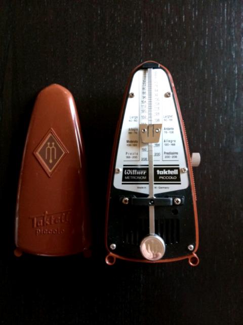 Wittner metronomo taktell piccolo - battute  - marrone