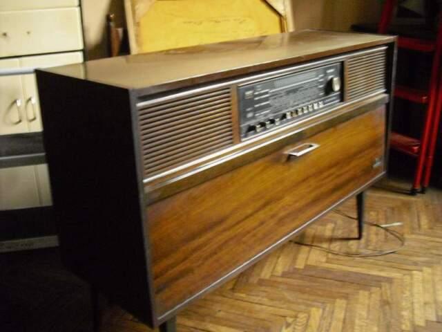 Radio giradischi anni 60