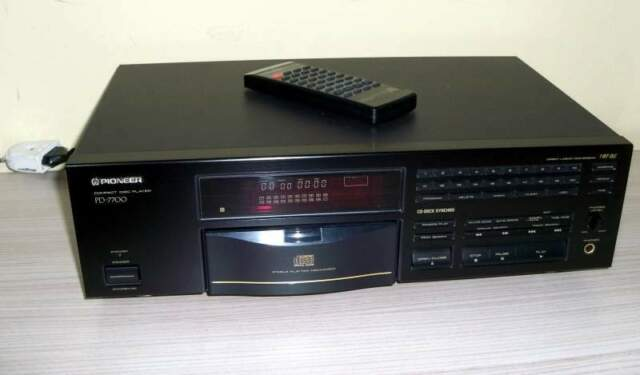 Lettore cd pioneer pd  vintage anni 90