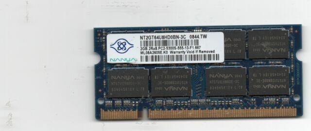 Ram 2GB per notebook
