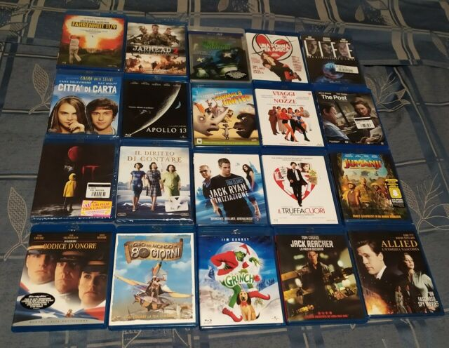Blu ray originali pari a nuovo