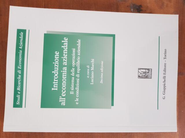 Libro per la Facolta' di Economia e Commercio