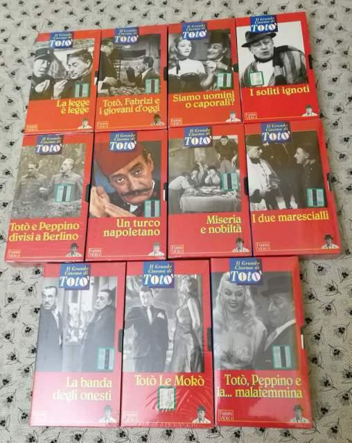 """VHS """"Il grande cinema di Totò"""", Fabbri video"""