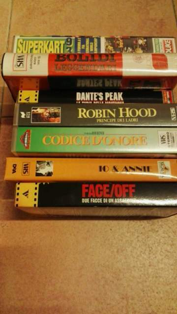 Videocassette originali