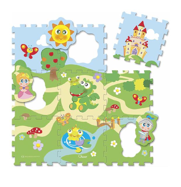 Baby monitor audio chicco e tappeto puzzle chicco