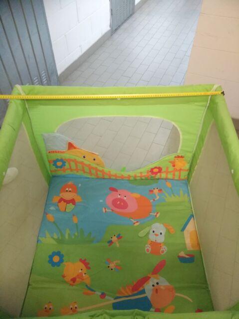 Box per bambini con tappetino morbido