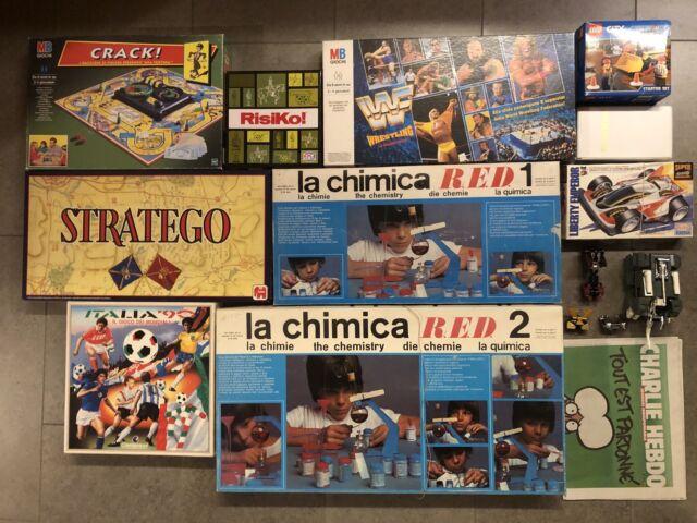 Mega lotto giocattoli / giochi di società vintage