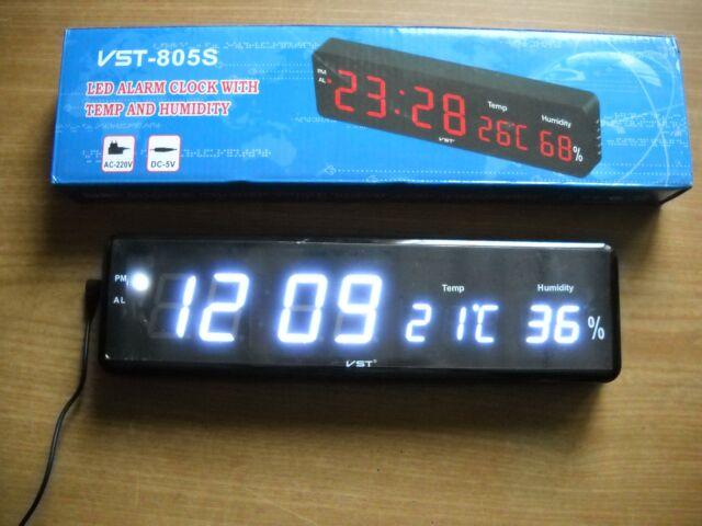 Orologio digitale led da parete o scrivania